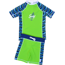 T shirt anti uv & Boardshort UPF50+  WIPE OUT
