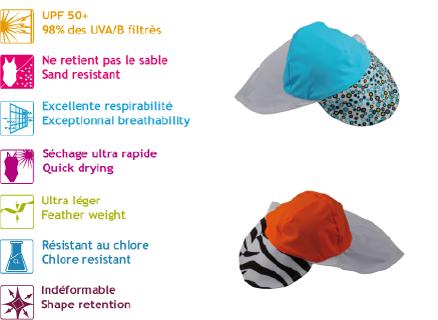472fe25a8c11 Chapeau anti UV pour bébé et enfant Fedjoa